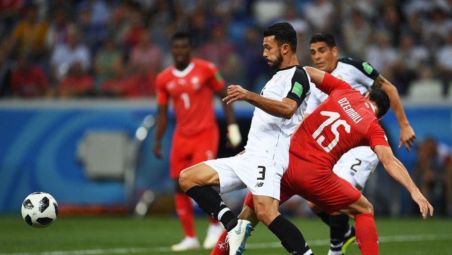 Сборная Швейцарии сыграла вничью с Коста-Рикой и вышла в плей-офф ЧМ-2018