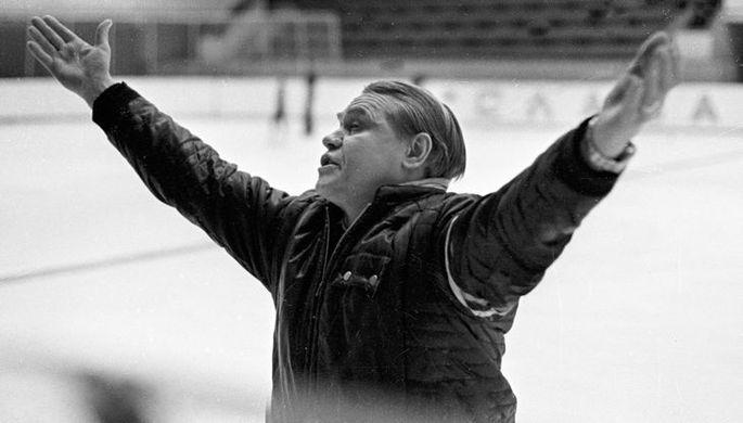 Заслуженный тренер СССР по фигурному катанию Станислав Жук.