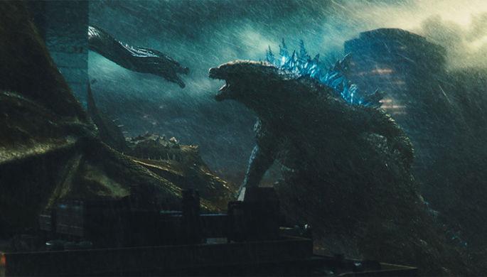 Кадр из фильма «Годзилла 2»