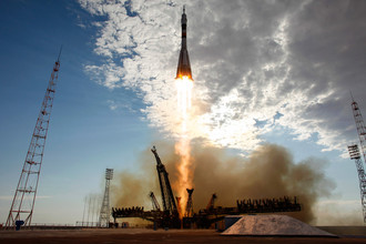 В ночь на вторник грузовой корабль «Прогресс М-15М» не смог состыковаться с МКС