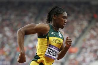 Южноамериканка Кастер Семеня вышла в финал в беге на 800 м