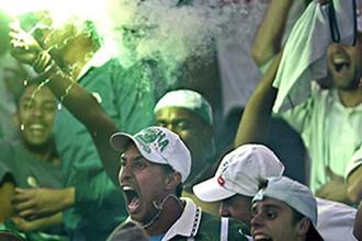 Фанаты в Бразилии известны на весь мир своим бешеным нравом