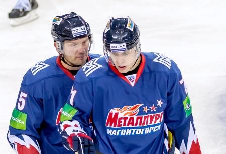Евгений Малкин и Сергей Гончар плодотворно провели время в «Магнитке»