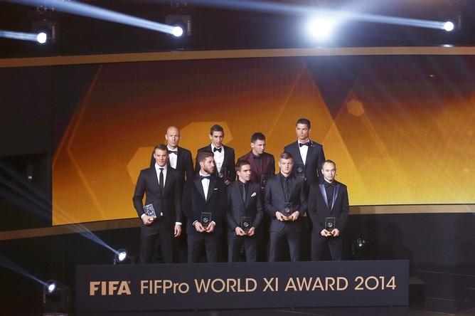 Три немецких игрока вошли в символическую сборную мира по версии ФИФА