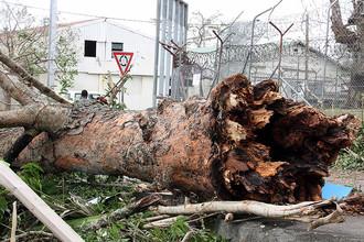 Последствия циклона в столице Вануату Порт-Вила