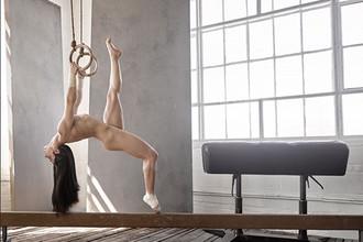Двукратная олимпийская чемпионка по спортивной гимнастике Эли Райзман