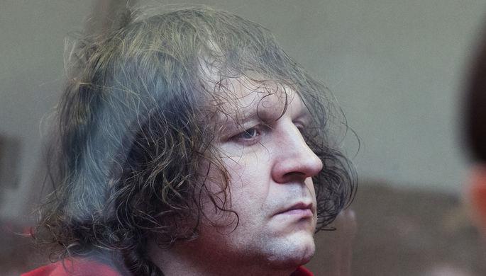 Александр Емельяненко во время судебного процесса над ним