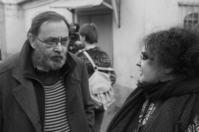 Елена Гремина и ее супруг Михаил Угаров