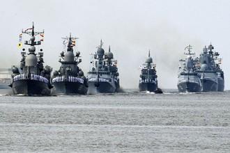 «Путь для новых проектов»: издание из США оценило парад ВМФ РФ