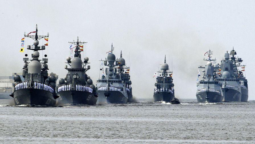 Российский корабль зашел в зону учений Украины и НАТО
