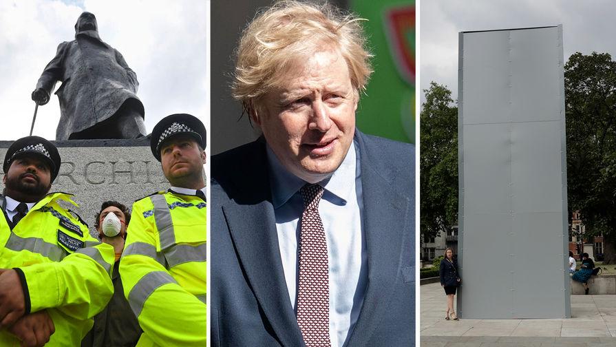 Борис Джонсон заступился за Черчилля и призвал не переписывать историю