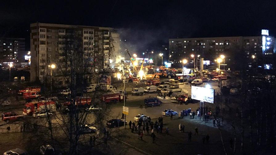 Росгвардия сообщила об увеличении числа жертв обрушения дома в Ижевске