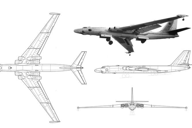 Советский бомбардировщик 3М