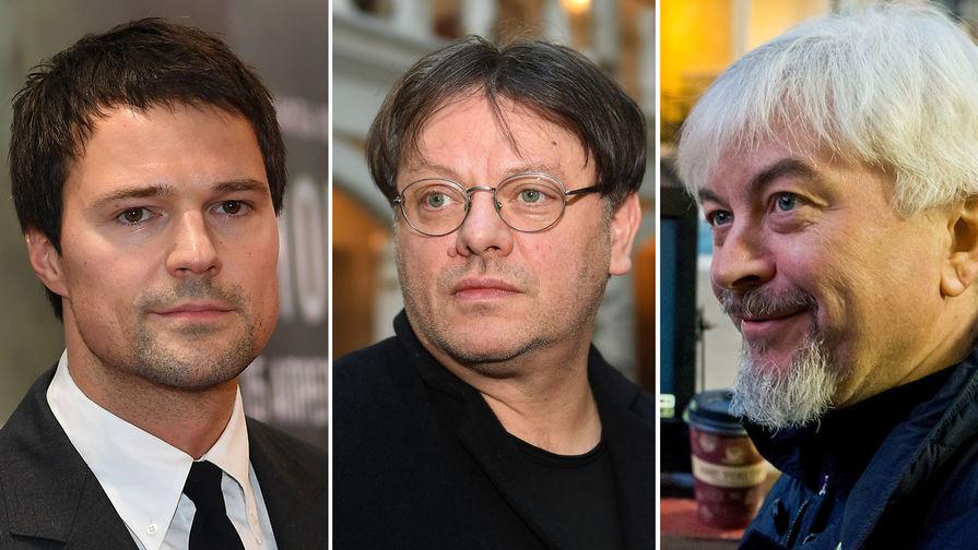 Данила Козловский, Валерий Тодоровский и Олег Погодин (коллаж)