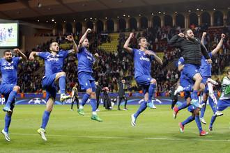 «Монако» на своем поле уступил «Ювентусу» в первом матче полуфинала Лиги чемпионов