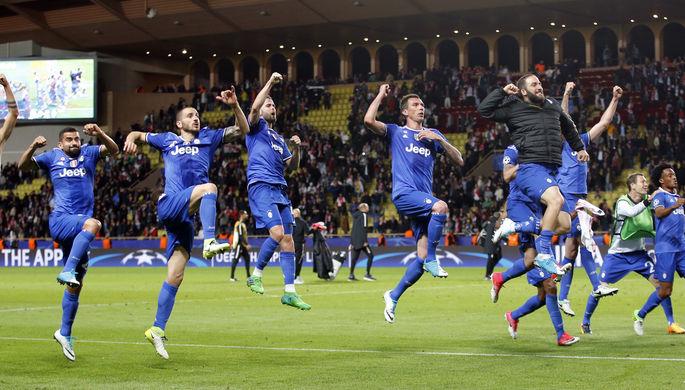 «Монако» на своем поле уступил «Ювентусу» в первом матче полуфинала Лиги...