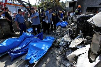 Крушение самолета в Пларидел, Филиппины, 17 марта 2018 года