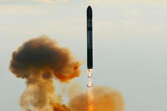 Запуск ракеты РС-20 («Воевода»), 2007 год