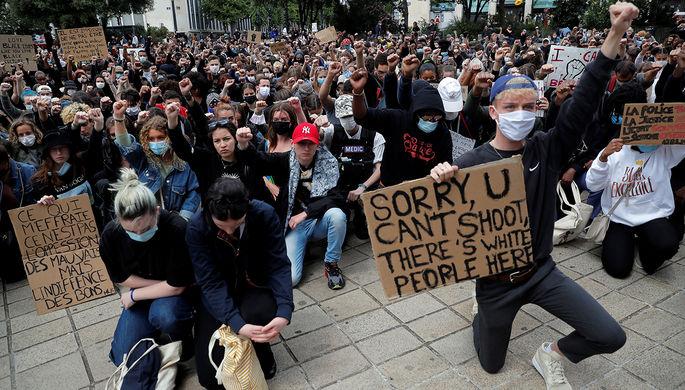 Газ и пули: почему протесты в США перекинулись на Европу