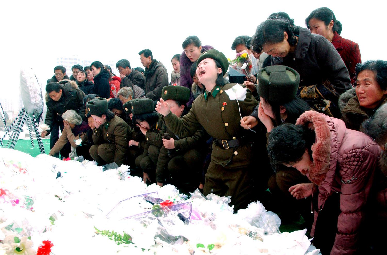 Траур в Пхеньяне после смерти Ким Чен Ира, 2011 год
