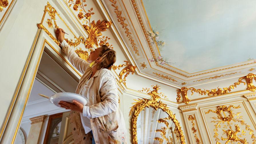 Интерьер виллы La Grange в Женеве