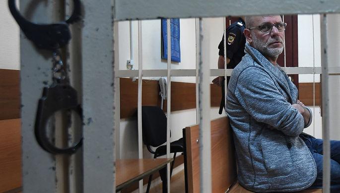 Бывший директор театра «Гоголь-центр» Алексей Малобродский и бывший главный бухгалтер «Седьмой студии» Нина Масляева в Басманном районном суде, 18 июля 2017 года