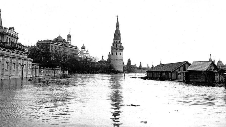 Наводнение в Москве: как она утонула