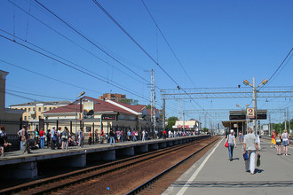 ЖД станция в Подольске