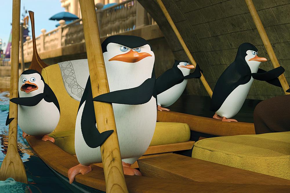 Кадр из мульфильма «Пингвинов Мадагаскара». Источник: DreamWorks Animation