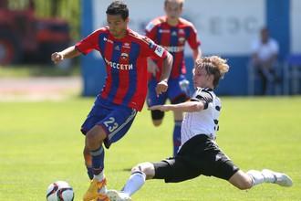 ЦСКА уступил «Тосно» в контрольном матче