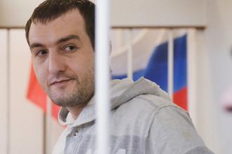 Илья Пьянзин во время заседания Лефортовского суда Москвы, 2012 год