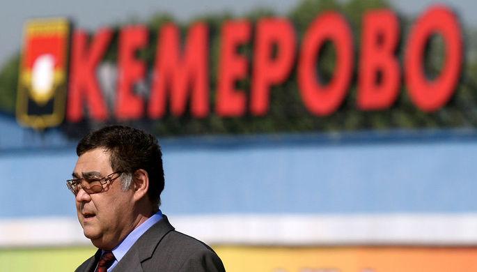 Губернатор Кемеровской области Аман Тулеев во время посещения объектов ОАО «Кемеровский...