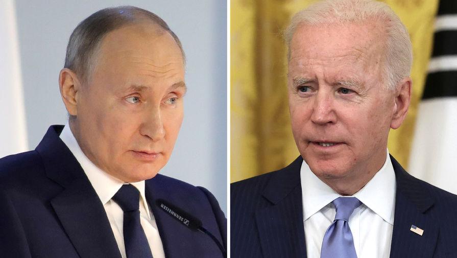 Владимир Путин, Джо Байден