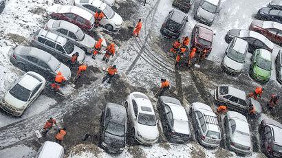 Что делать, если автомобиль повредили при уборке снега