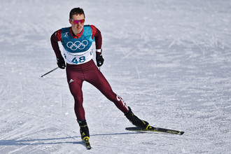 Лыжник Денис Спицов