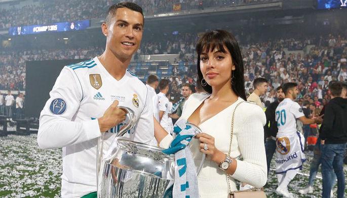 Нападающий «Ювентуса» Криштану Роналду и испанская модель Джорджина Родригес