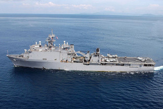 Десантный корабль морской пехоты ВМС США «Форт Макгенри»