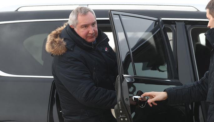 Генеральный директор госкорпорации «Роскосмос» Дмитрий Рогозин, 2019 год