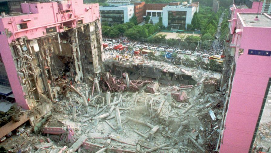 Последствия обрушения торгового центра в Сеуле, 29 июня 1995 года