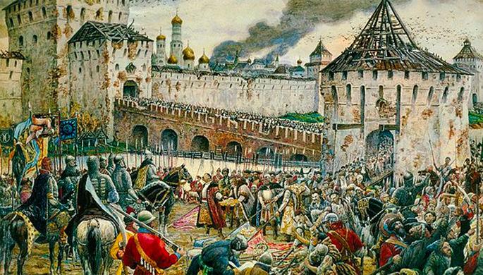 Захват Москвы польскими войсками, 1610 год
