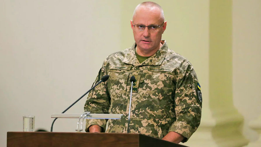 Главнокомандующий ВСУ генерал-лейтенант Руслан Хомчак