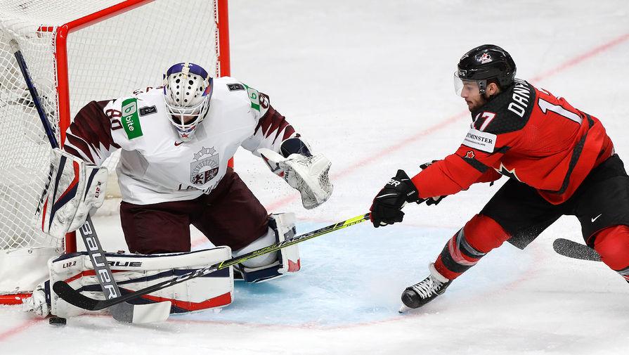 Латвия обыграла Канаду в стартовом матче чемпионата мира по хоккею