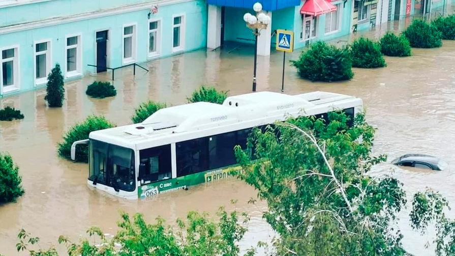 После ливней в Крыму введен режим ЧС регионального масштаба