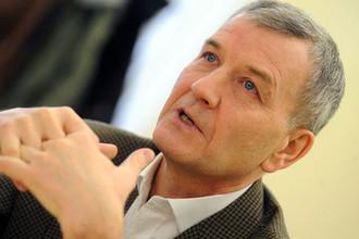 Владелец Группы компаний «Рольф» Сергей Петров, 2009 год
