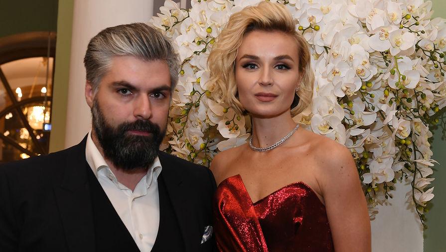 Певица Полина Гагарина с супругом Дмитрием Исхаковым, 2018 год