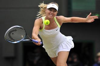 Россиянка Мария Шарапова переиграла Ализе Корне из Франции в матче третьего круга Australian Open