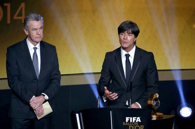 Йоахим Лев признан лучшим тренером года по версии ФИФА