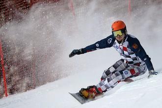 Вик Уайлд стал лучшим на этапе Кубка мира по сноуборду в Австрии