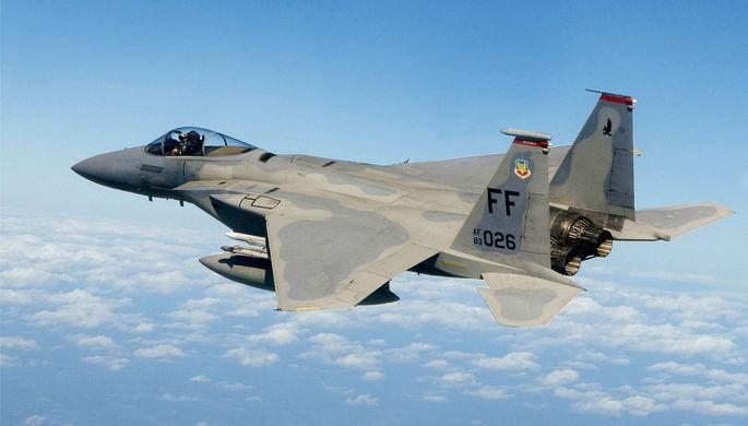 Всепогодный истребитель McDonnell Douglas F-15E Eagle «Игл» (США)