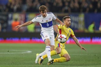 Сборная Румыния одолела национальную команду Армении в домашнем матче отборочного раунда чемпионата чира 2018 года